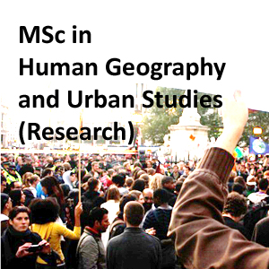 MSc Human Geography Research