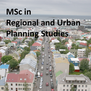 MSc Regional and Urban Studies
