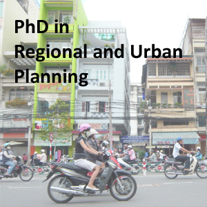 PhD in Regional and Urban Planning
