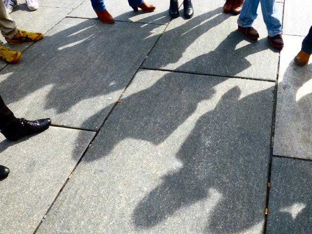 Arty shadows