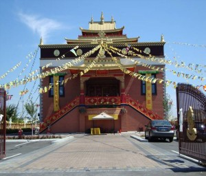 Tibetan Monastery, Richmond, Vancouver (Photo credit: Claire Dwyer)