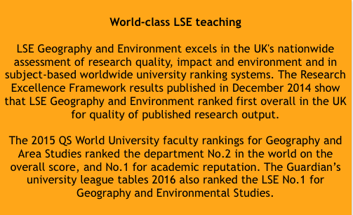 World Class LSE Teaching