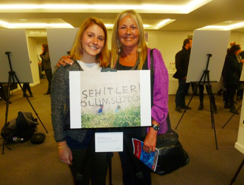 Janetta Deppa (and her photograph) and Professor Sylvia Chant