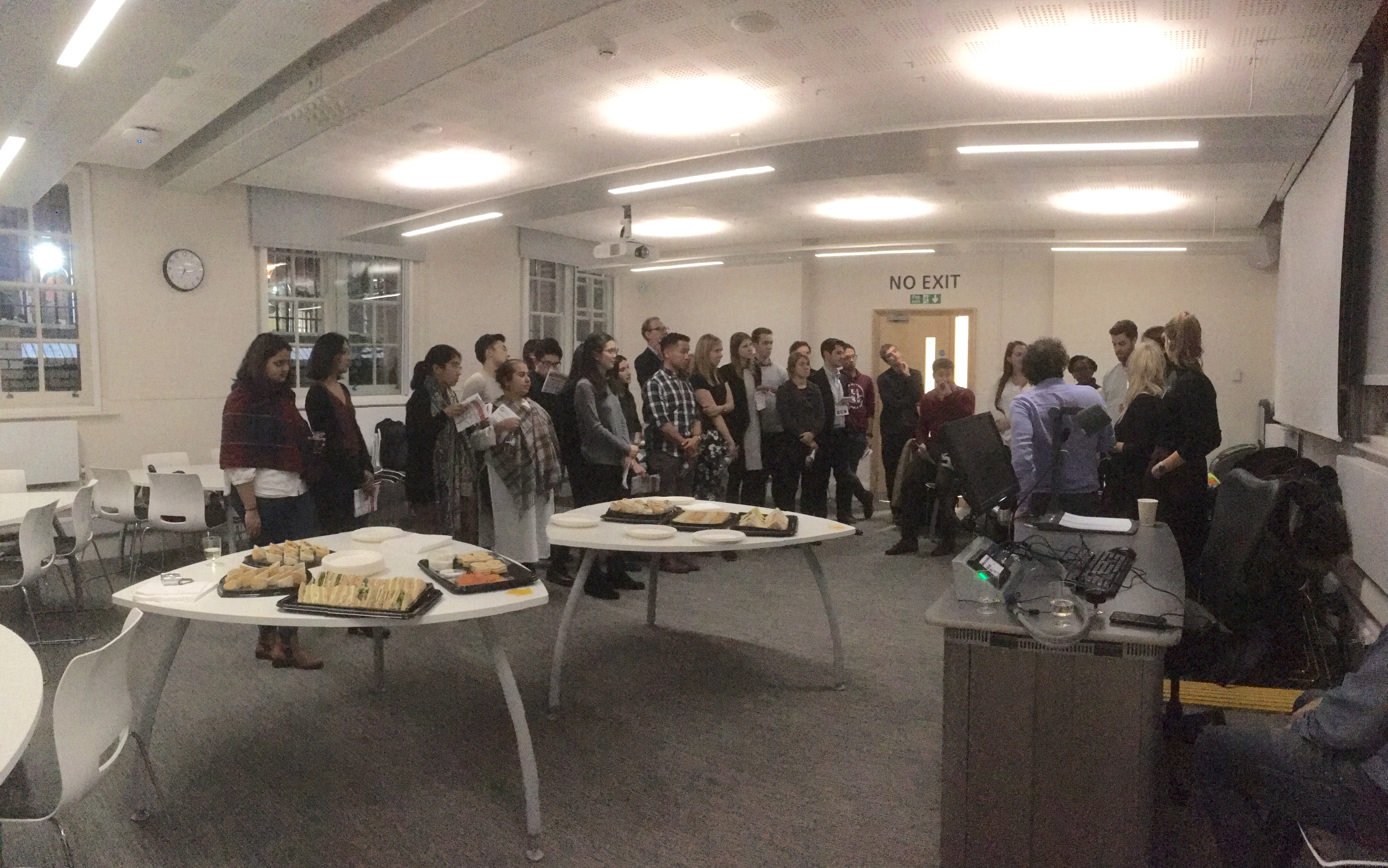 MSc Urbanisation and Development Careers Evening, 4 November 2016 (Photograph courtesy of Hyun Bang Shin)