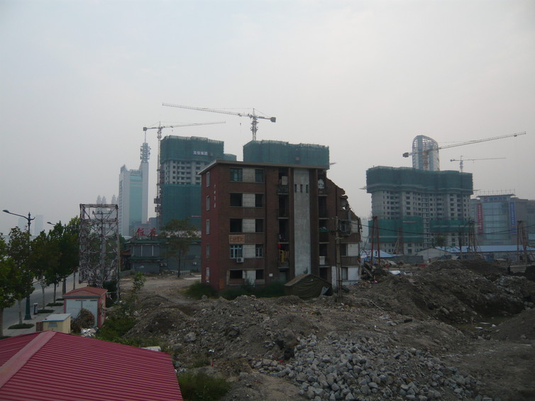 A nail household in Tianjin, north-east China. Hyun Bang Shin, Author provided